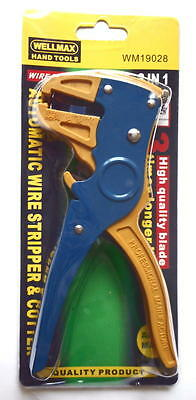 Wellmax Hand Tools WM19028 2 In 1 Automatic Wire Stripper And Cutter