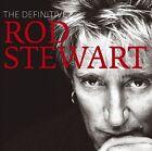 The Definitive Rod Stewart by Rod Stewart (CD, Nov-2008, 2 Discs, Warner Bros.)