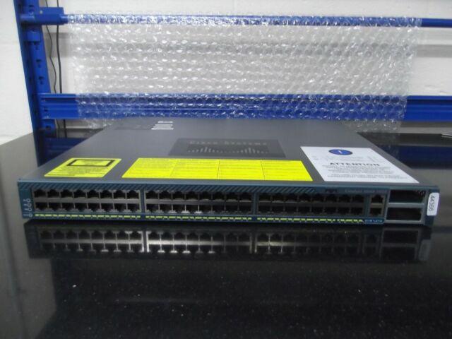 WS-C4948-10GE Catalyseur 4948 48 10/100/1000 Interrupteur + 2 X 10GE Ports
