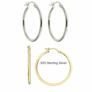 925-SOLID-STERLING-SILVER-PLAIN-2MM-THICK-ROUND-ENDLESS-HOOP-EARRING-1-034