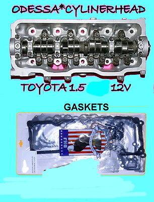 TOYOTA TERCEL 1.5 12V 3EE (EFI VERSION) SOHC CYLINDER HEAD&GASKETS 90-94 NO CORE