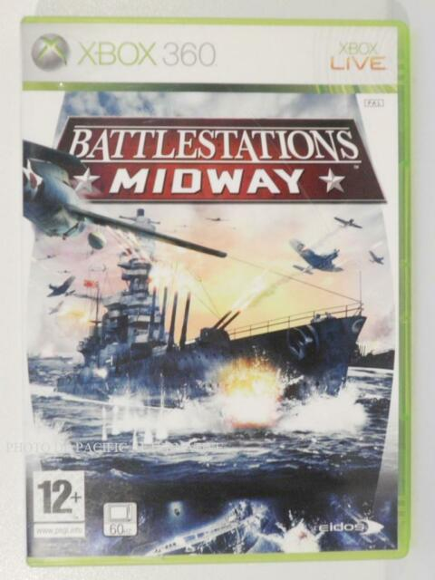 jeu BATTLESTATIONS MIDWAY pour XBOX 360 en francais avions navires guerre X360