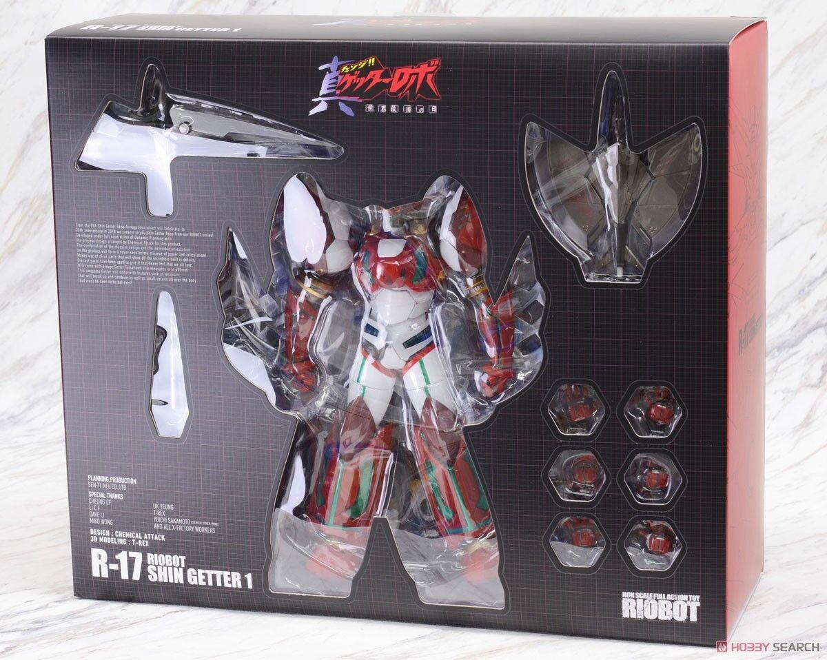 Riobot R-17 Shin Getter-1 Getter Robo Armageddon Sentinel Go Nagai Dynamic