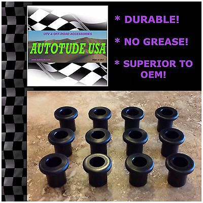 Front A-Arm DELRIN Bushing Kit DURABLE NO GREASE 2014 Arctic Cat Wildcat 4