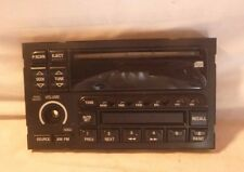 95-02 Buick Century Lesabre AM FM Radio Cd Face Plate 09373334 JC11924