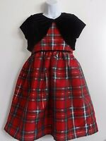 Flower Girl Christmas Red Black Grad Pageant Holiday Prom Party Dress Sale