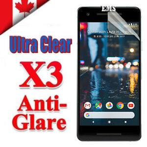 3X Clear & Anti Glare Matte Screen Protector Film Guard For Google Pixel 2