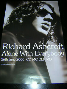 ORIGINAL-RICHARD-ASHCROFT-PROMOTIONAL-POSTER-ALONE-WITH-EVERYBODY