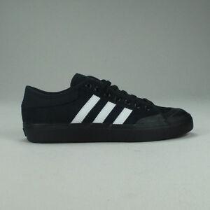 dd1db6f3dd9a6 Image is loading Adidas-Matchcourt-RX-Skate-Trainers-Shoes-Black-White-