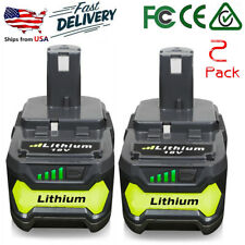 2XFor Ryobi P108 18V 4.0Ah Lithium Ion Battery Pack Replaces P107 P105 P103 P102
