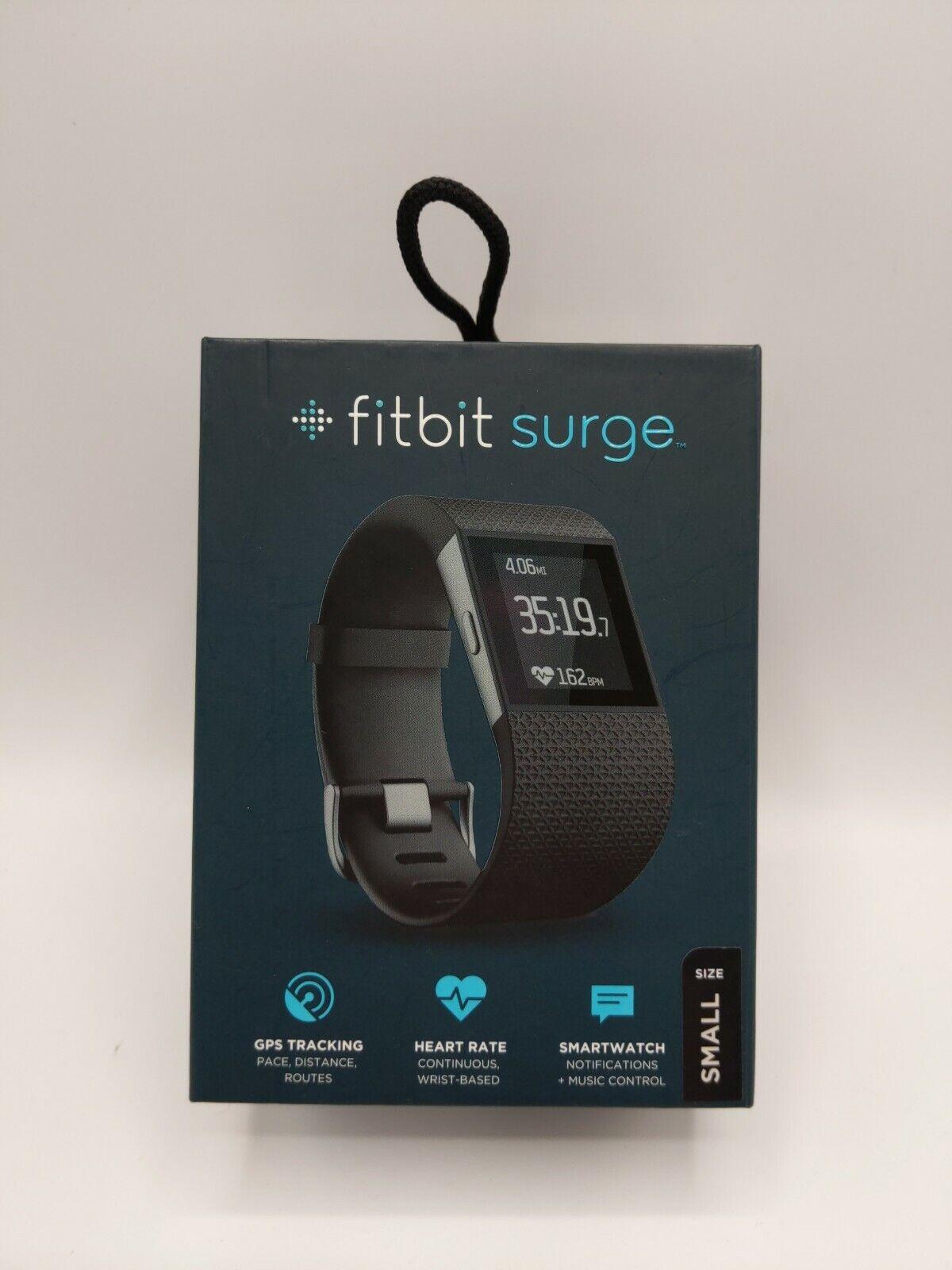 Fitbit Surge GPS Heart Rate Sleep Smartwatch Fitness Tracker - SMALL fitbit fitness gps heart rate sleep small smartwatch surge tracker