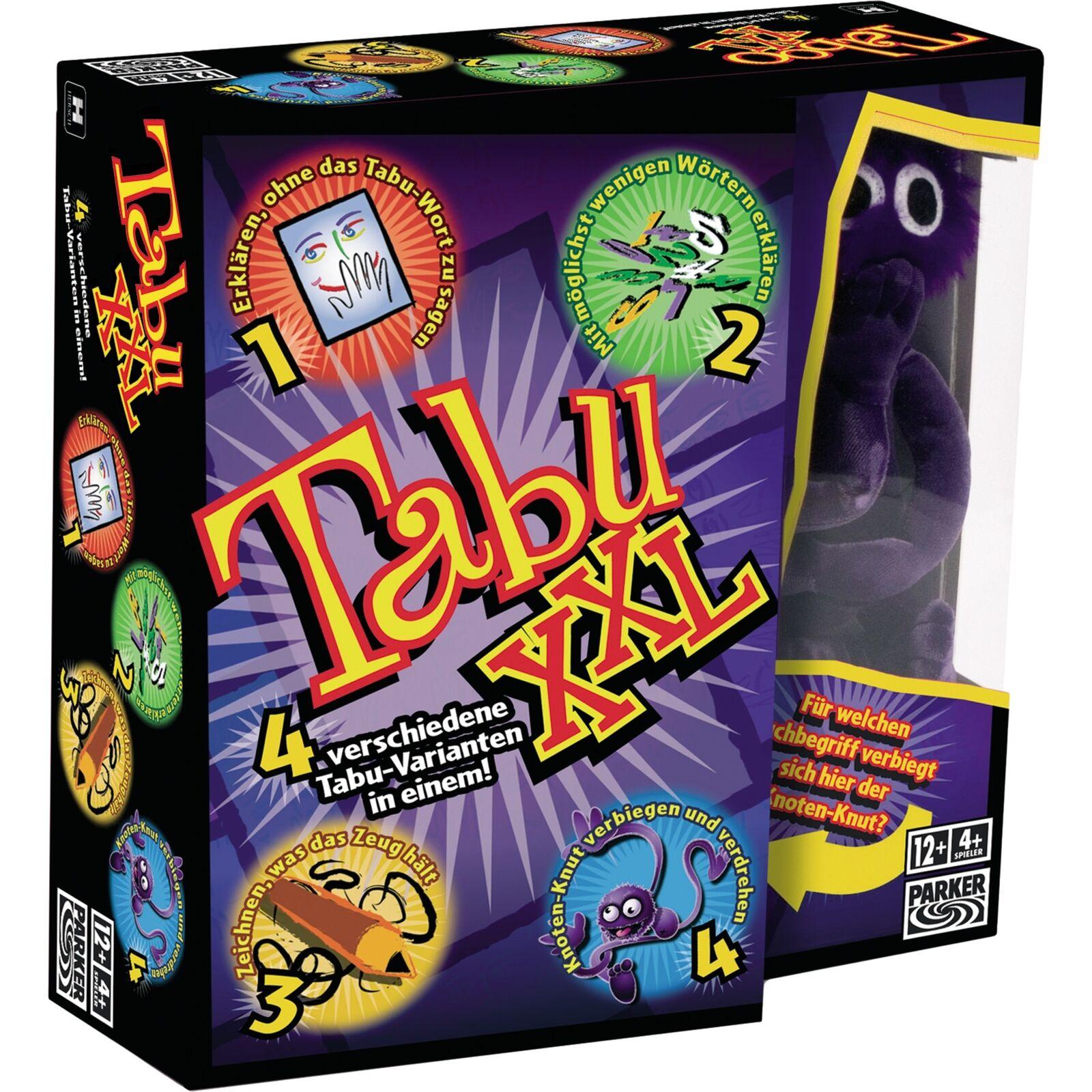 Hasbro Gaming Tabu XXL, Partyspiel