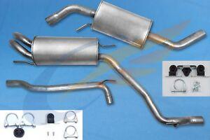 1 Auspuff Auspuffanlage Endschalldämpfer für VW T4 2,5 TDI Pritsche//Fahrgestell