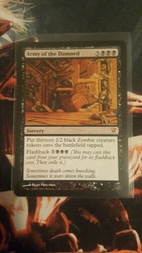 x1 Army of the Damned Innistrad MTG Magic the Gathering Rare Card x 1