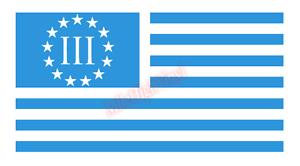 3-Percenter-US-Flag-Window-Glass-Vinyl-Decal-Sticker-Car-Truck