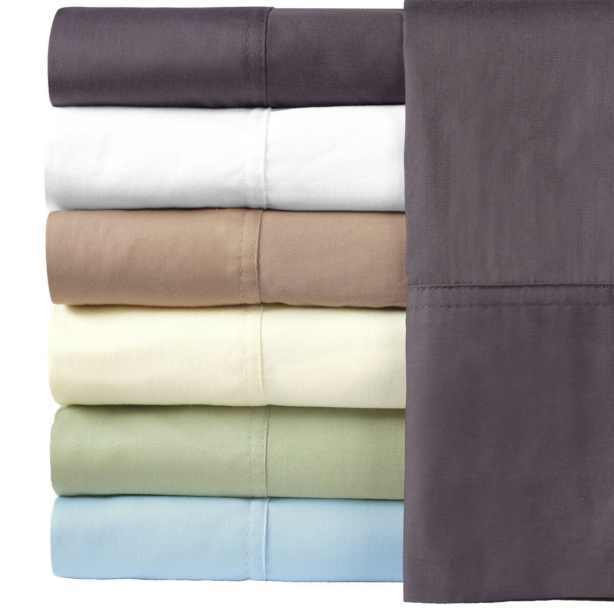 Top Split King Sheet Set Bamboo Cotton Blend Flex Head Cool Bed Sheets