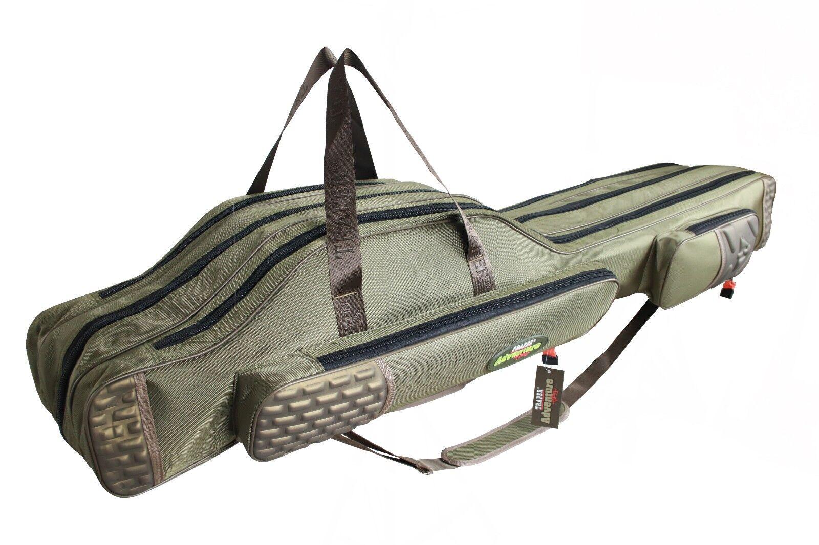 Versteift Rutentasche TRAPER  Adventure I Rutenfutteral 2/3 Fächern Fächern Fächern 140/160cm ace7e3
