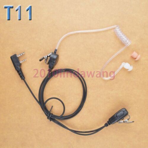 1-wire Headset Earphone For Kenwood TK2400 TK3173 TK3400 TK3407 Portable Radio
