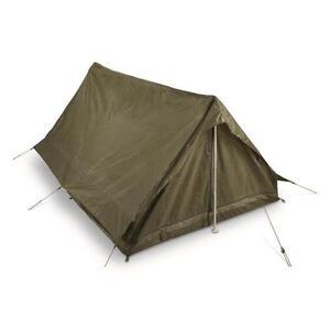 Image is loading Military-Surplus-Tent-2-Person-C&ing-Bivy-Army-  sc 1 st  eBay & Military Surplus Tent 2 Person Camping Bivy Army Navy Survival ...