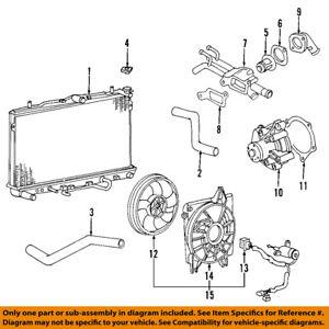 details about kia oem 06 10 sedona 3 8l v6 engine water pump gasket 256143c200 2005 Mitsubishi Eclipse Engine Diagram