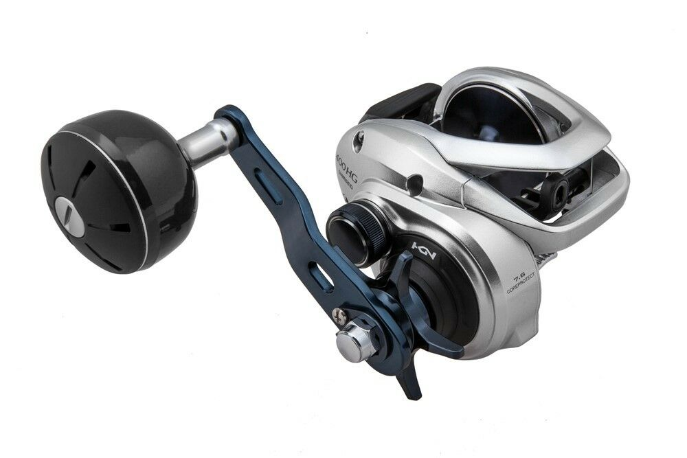 Shimano Tranx 400A (Right Hand) 5.8 1 Low Profile Baitcasting Reel, TRX400A