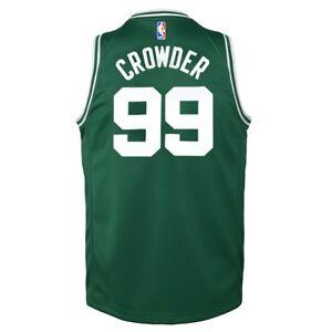 newest c1074 2a511 Details about Jae Crowder Boston Celtics Nike Green Icon Swingman Jersey  Youth (S-XL)