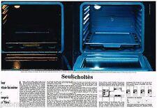 Publicité Advertising 1970 (2 pages) Le Four Bleu Scholtès