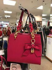 95842e678bcd item 2 MICHAEL KORS Ultra Pink Cynthia North South Satchel Purse Bag  30H7GCYS5L NWT -MICHAEL KORS Ultra Pink Cynthia North South Satchel Purse  Bag ...
