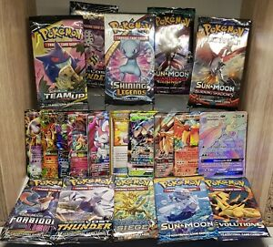 Pokemon-Cards-1x-Booster-1x-Ultra-Rare-GX-EX-V-Max-wicked-gift-amazing-packaging