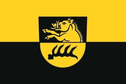 Fahne Flagge Eberstadt 20 x 30 cm Bootsflagge Premiumqualität