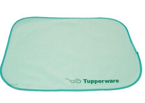 orange FaserPro Brille Putztuch Tupperware 2x Brillentuch Durchblick türkis