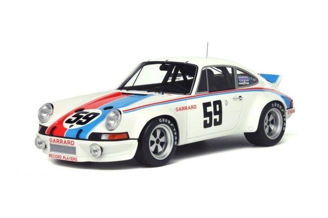 Resin Car Model GT Spirit Porsche 911 Carrera RSR  59 Daytona 73 1:18 + GIFT