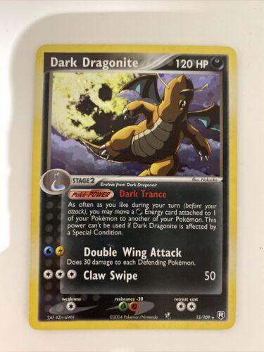 Pokemon Card Dark Dragonite 15/109 Holo EX Team Rocket Returns
