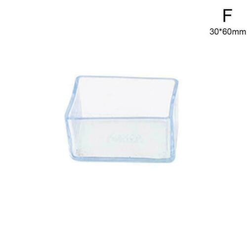 Antiskid Silicone Chair Leg Caps Feet Bottom Cover Furniture Table Protect Y6V5