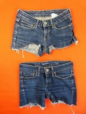 LEVIS Lot 2 mini short Taille 24/25 US -
