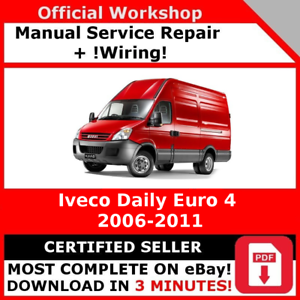 Details about # FACTORY WORKSHOP SERVICE REPAIR MANUAL IVECO DAILY on step ten worksheet daily, cool to do list daily, trucks daily,
