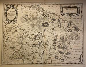 Kupferstichkartevon-J-Mellinger-Ducatus-Luenebuyensis-um-1650-Lueneburg-sf