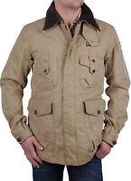 Napapijri Men's Parka Jacket Beige Size S - Xxl Rif44