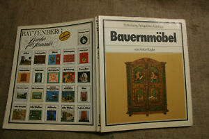 Sammlerbuch-Bauernmoebel-Bauernmalerei-alte-Schraenke-Battenberg-1985