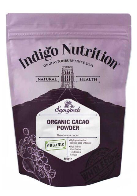 Organico Cacao Polvere PERU - 500g-Indaco Erbe