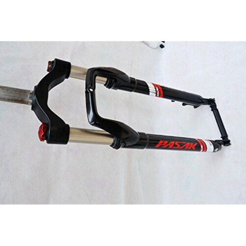 """Suspension Forks Alloy For 4.0/""""Tire Snow Mountain Bike 26 Fork Fat Bicycle Solid"""