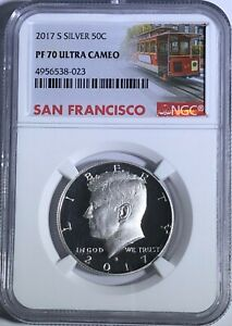 2019 S Proof Kennedy Half Dollar 50c NGC PF69 ULTRA CAMEO Early Releases ER LB