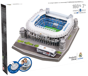 Real Madrid Santiago Bernabeu Football Stadium 3d Jigsaw Puzzle 160 Pieces Ebay