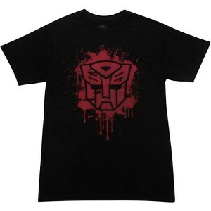 $30.00 The Loyal Subjects x Transformers Autobot Stencil Tee - Sket One (black)