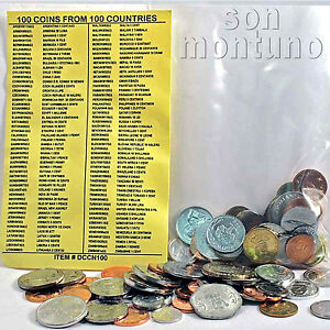 100-COINS-FROM-100-DIFFERENT-COUNTRIES-World-Collection-GREAT-STARTER-GIFT