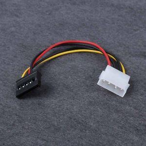 5pcs-4-Pin-IDE-Molex-a-15-Pin-Serial-ATA-SATA-Disco-Cable-adaptador-de-corriente