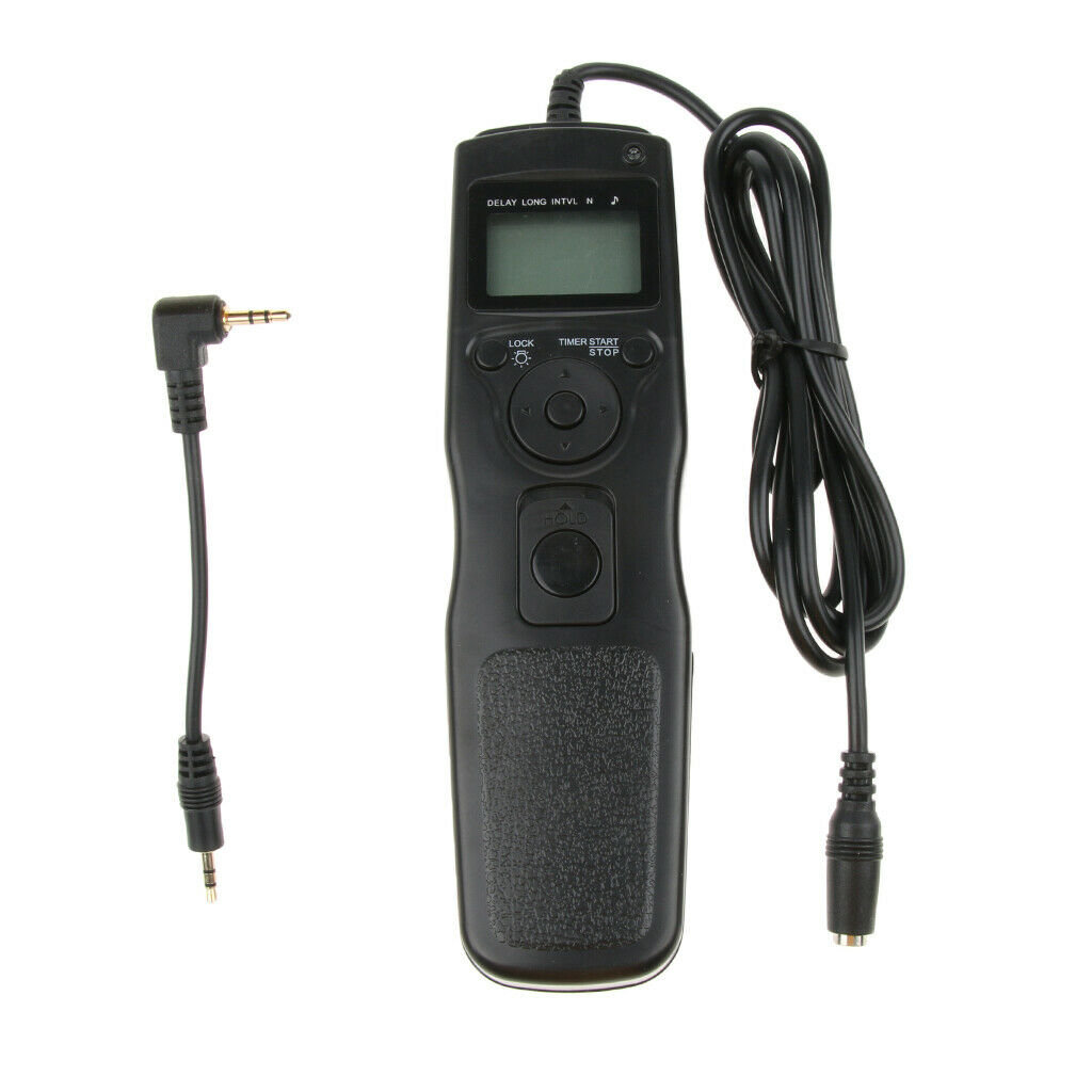 LCD Digital Timer Shutter Release Remote Control For Canon