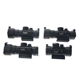 3X44-Vert-Point-Rouge-Sight-Scope-Optique-Tactique-Fusil-Portee-Fit-11-20mm-Rail