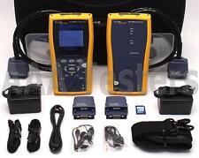 Fluke Networks DTX-1800 Cat5e Cat6 Cat6a 1gHz Certifier Tester DTX1800 v2.78