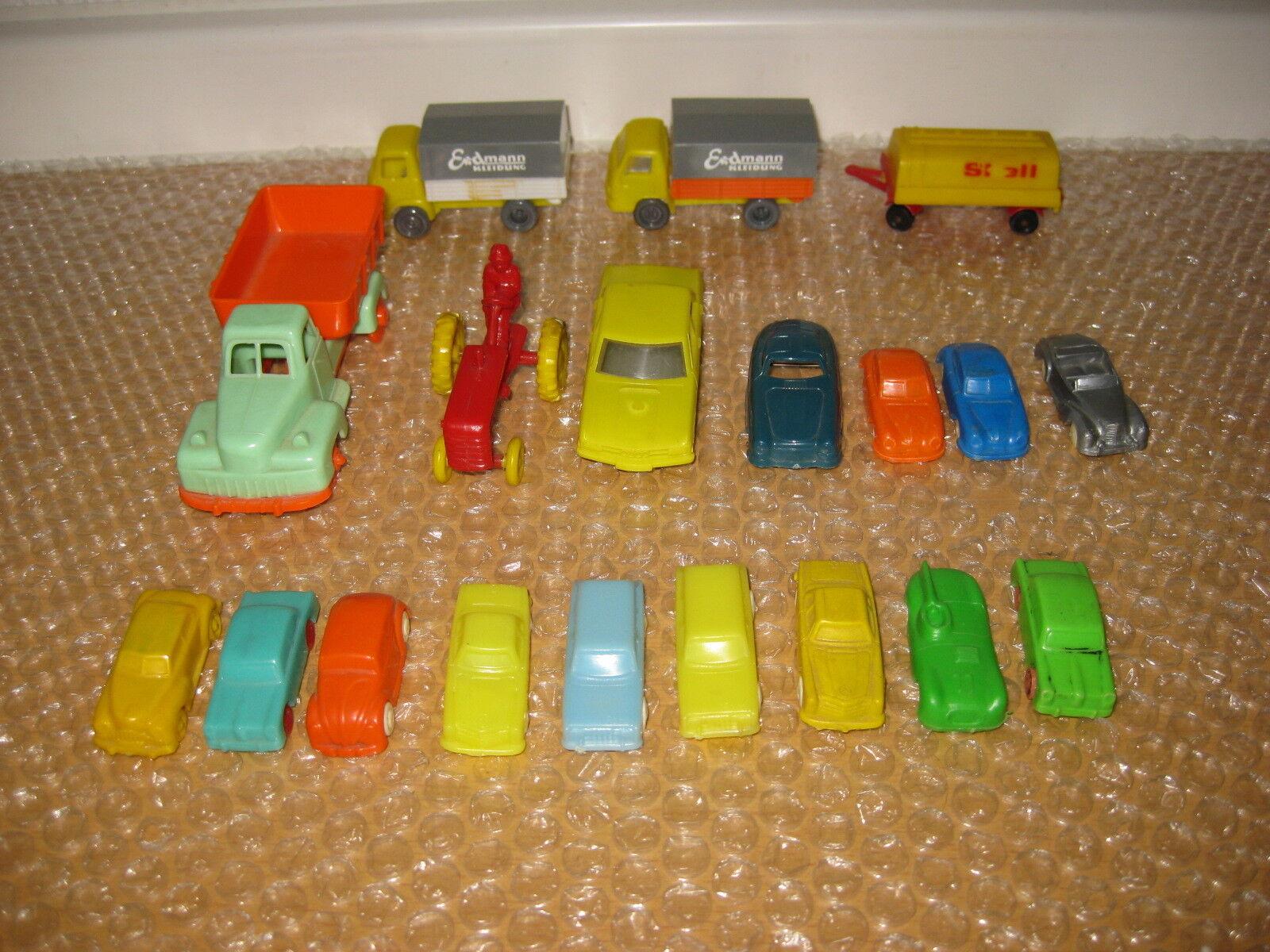 Bellissima la raccolta età Plastica Auto anni 50-60 anni r764